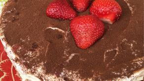Erdbeer-Tiramisu-Kuchen / #Rezeptegeflüster