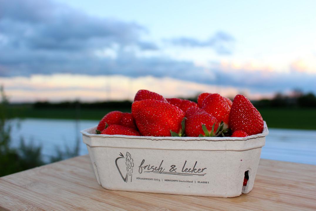 Erdbeerschale