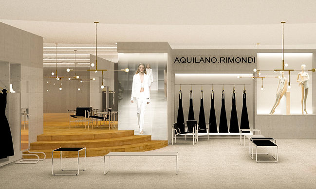 Showroom Project Studio Aquilano Design Division