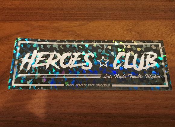 Heroes Club Slap Sticker