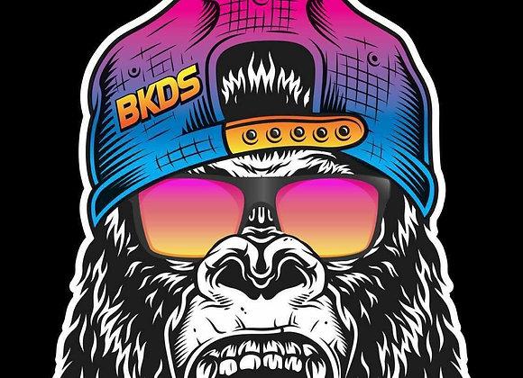 Sunglasses Gorilla Peeker Sticker
