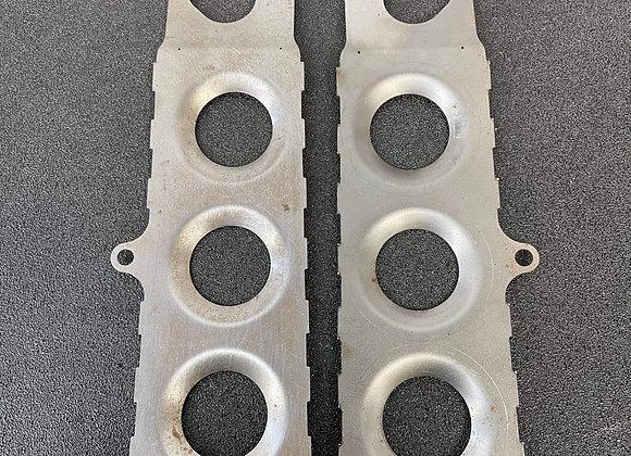 Nissan front caster arm bracket reinforcement plates   S13/ R32
