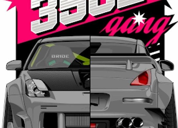 350Z Gang Banner