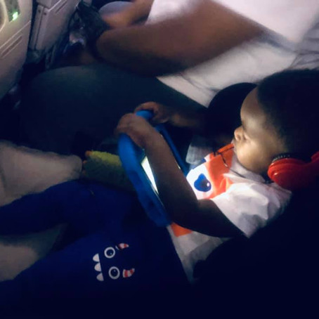 How I survived my first long haul flight with a Toddler