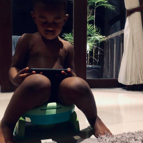 Potty Training and Traveling