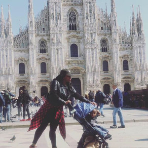 Milan, Italy with a Toddler