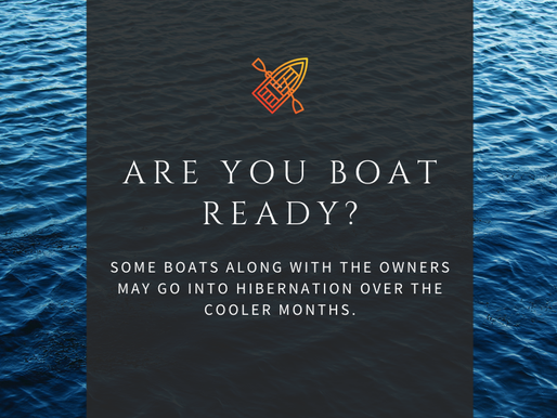 ARE YOU BOAT READY?
