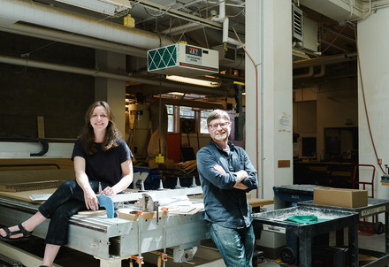 Molly Esteve and Todd Ferry / Center for Public Interest Design / For PSU Magazine