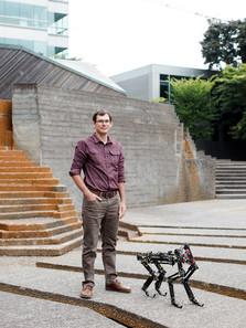Alex Hunt / Assistant Professor Design & Manufacturing Group / For PSU Magazine