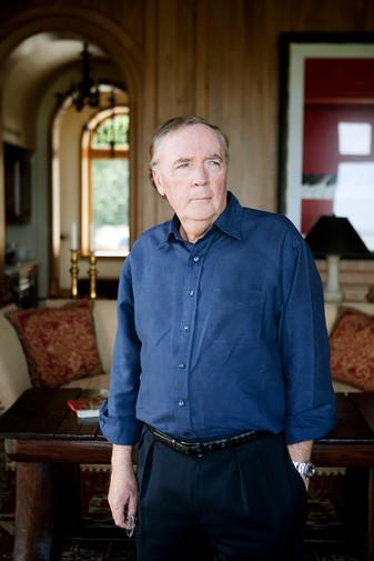 James Patterson, Author / for Lufthansa Magazine
