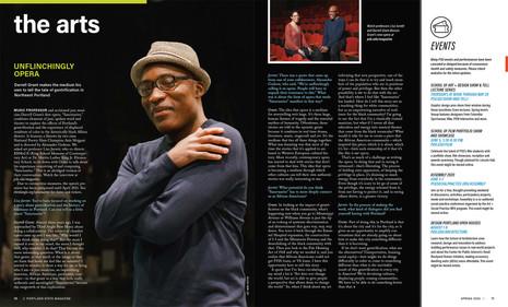 Darrel Grant / PSU Magazine