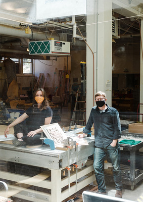 Molly Esteve and Todd Ferry / Center for Public Interest Design / For PSU Magazine