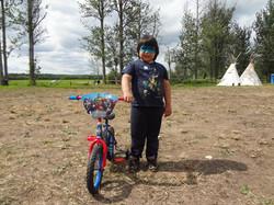 Children's bike winner