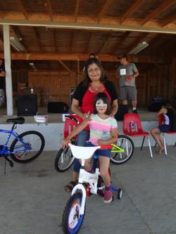 Child's bike winner