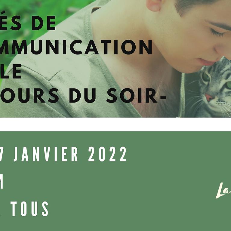 COURS DU SOIR - Les clés de la communication animale