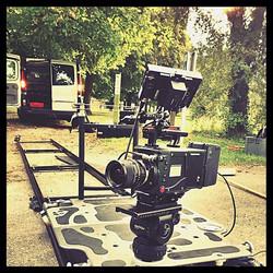 Phantom Flex 4K on set