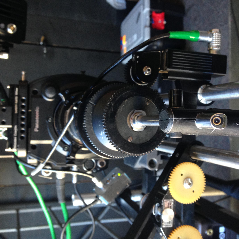 BFC Microlens on set