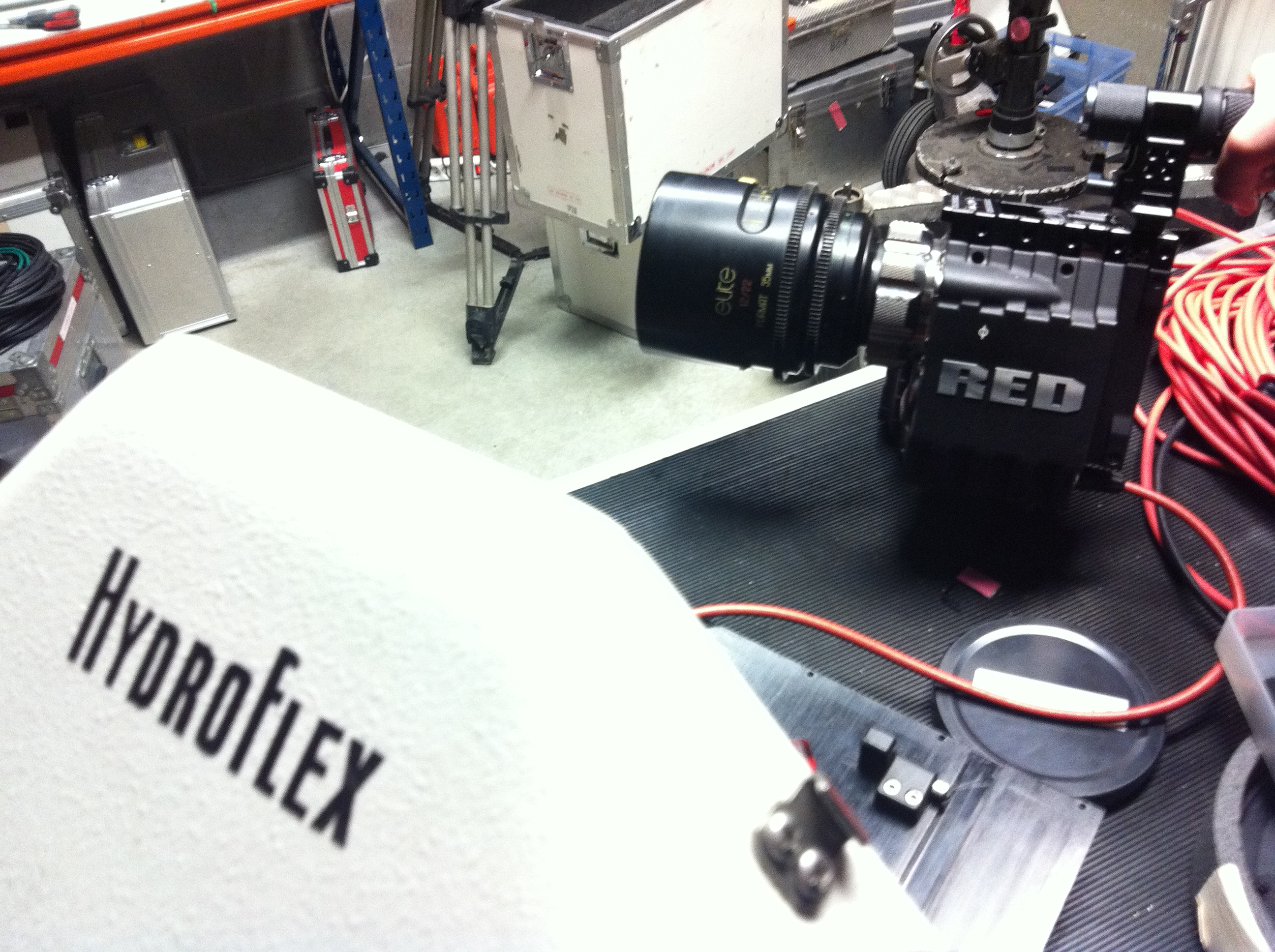 Red Epic integrated in Hydroflex