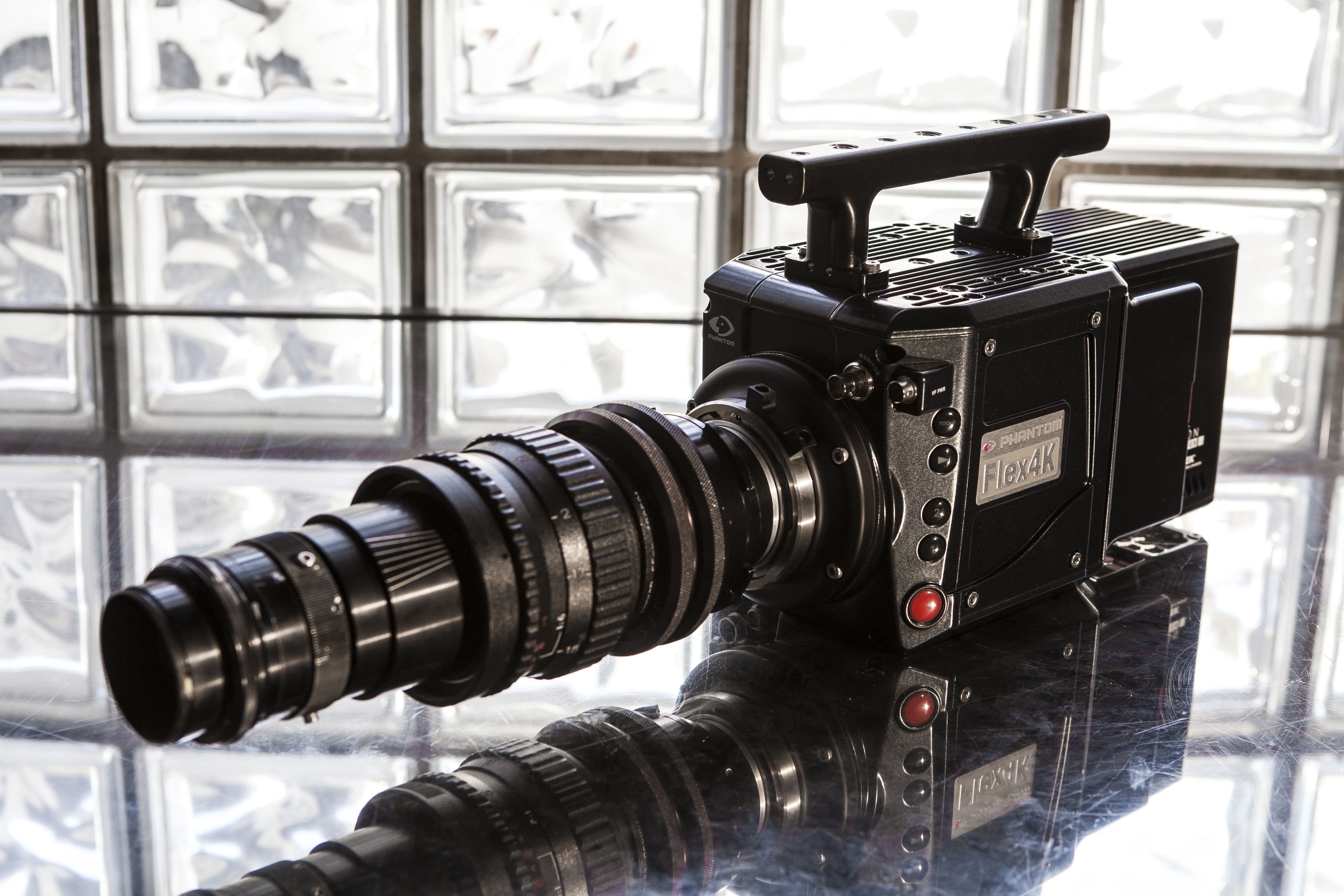 Infinity Lens on Phantom Flex 4K