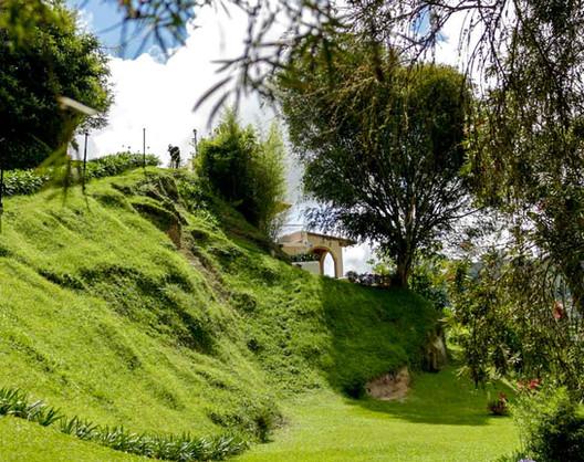 Jardin de la  Posada Don Elicio Colonia Tovar Venezuela