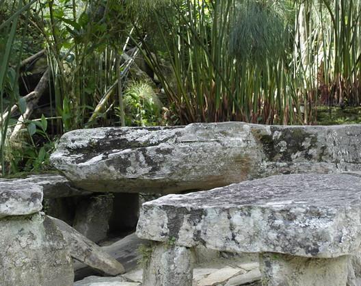 Comedor de piedra Espacios comunes Posada Don Elicio Colonia Tovar Venezuela