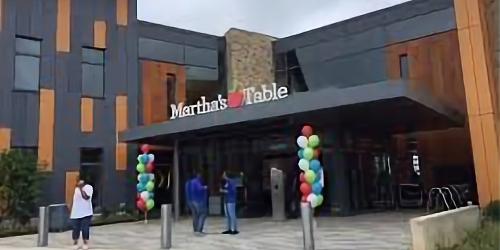 Martha's Table (Dc Mamba) Summer camp clinic #2