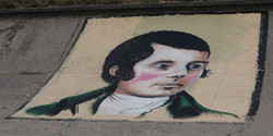 Robert Burns mural