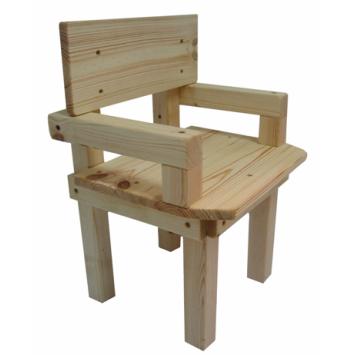 כיסא עם ידיות