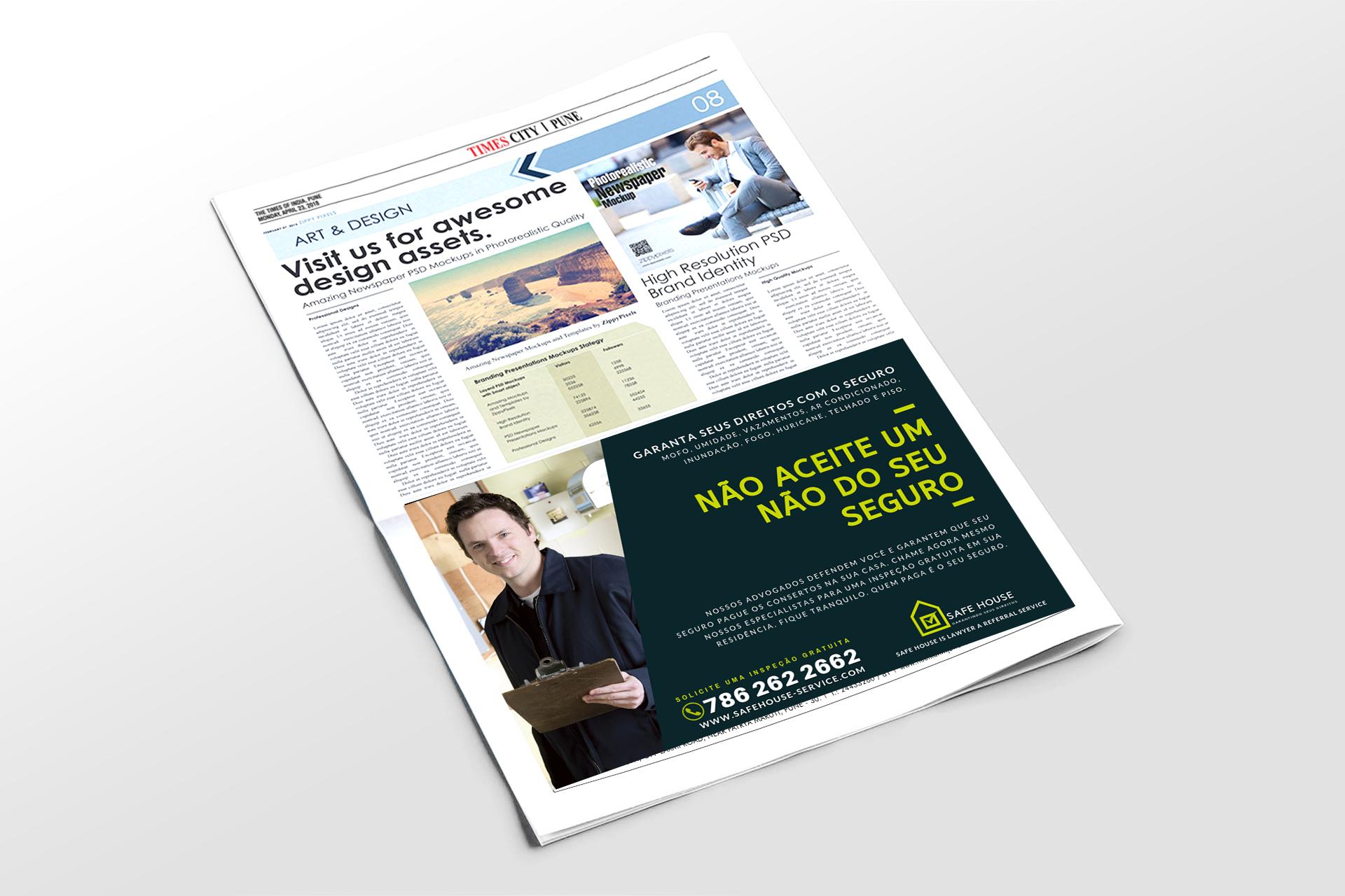 Publicidade em Jornal