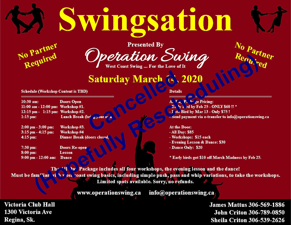 Operation Swing Swingsation 20200314 - V