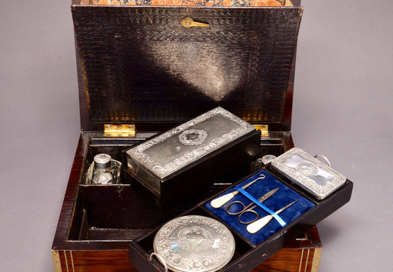 Early Victorian Gents Box