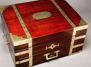Georgian Mahogany Box