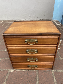 Mahogany chest