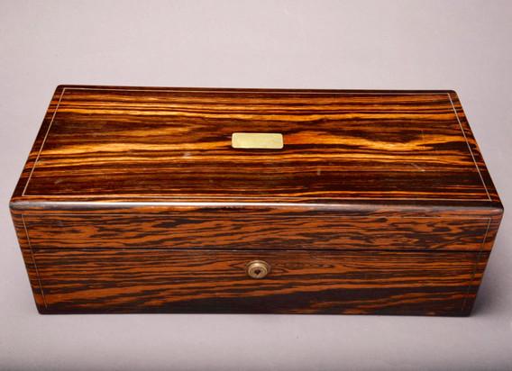 Early Victorian Coromandel Vanity Box