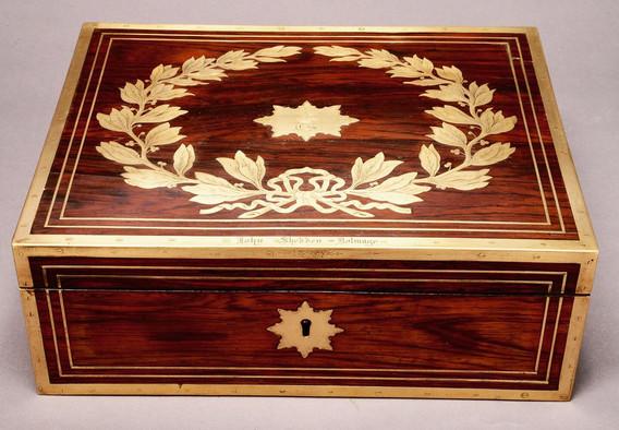 Rosewood Vanity Box