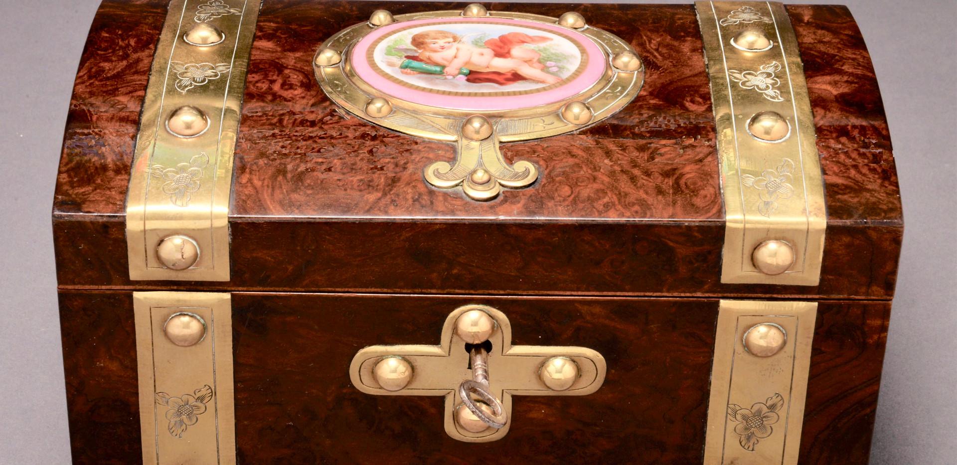 Burr Walnut Box
