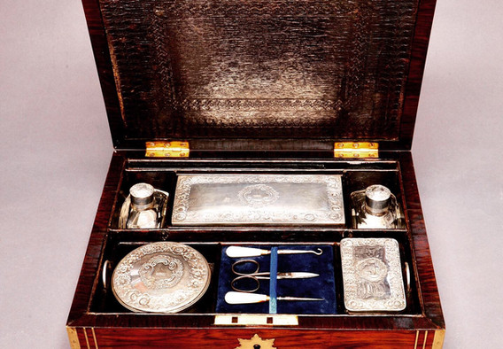 Early Victorian Gents Vanity Box