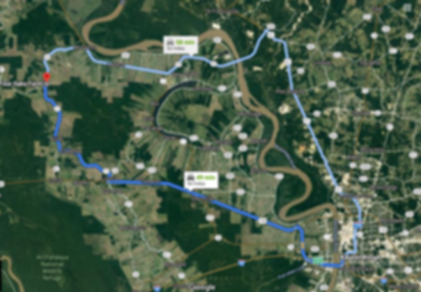From Baton Rouge to Four Oaks Farm