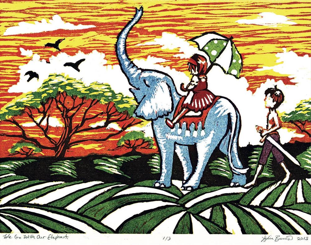 Lydia Burris Art - Children's Book
