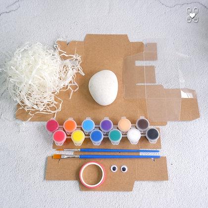 DIY Pet Rock & Nest Kit