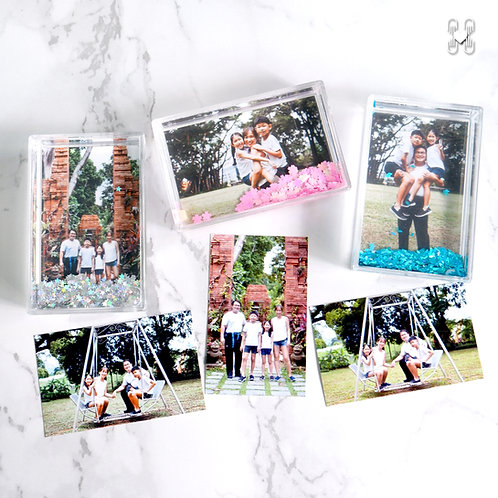 Sparkle Frames with Personalized Photos