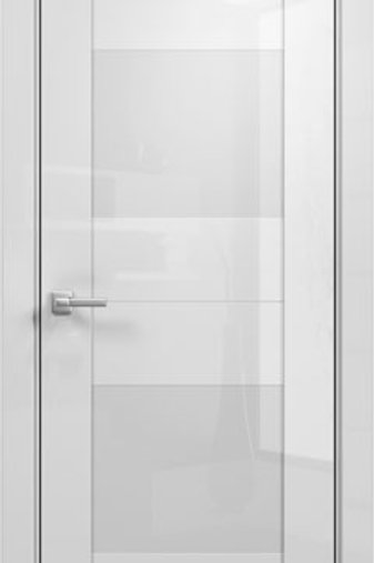 Модерн 2 акрил белый глянец