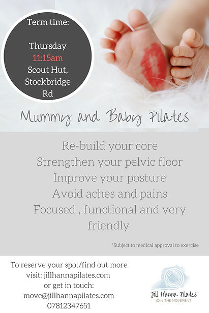 Postnatal Pilates Winchester