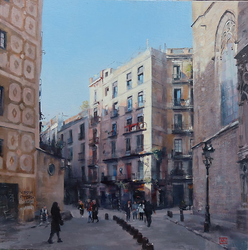 Afternoon light in Barcelona.jpg