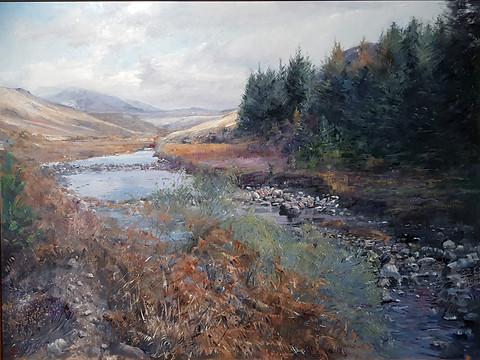 "Winding river ""Harris"""