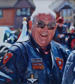 Portrait Phil Hannah