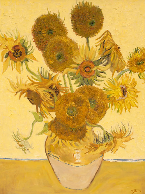 Sunflowers - Vincent Van Gogh (Copy)