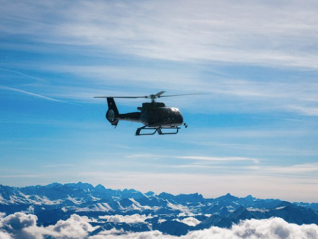 Der Berg ruft: Heli-Lunch-Hopping