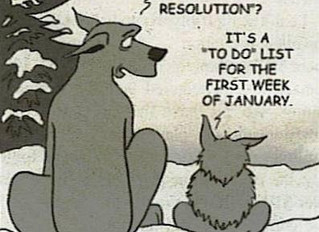 Setting New Year's Goals ... & Sticking to Them