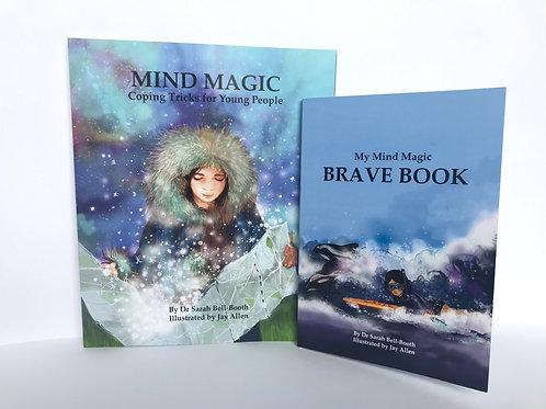 Mind Magic + Brave Book Set